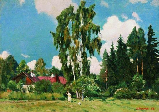 Art-каталог: живопись и графика - рылов аркадий александрович - свежий ветер