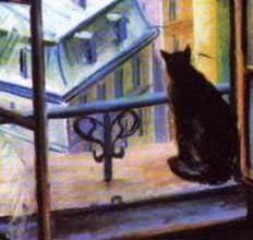Изложение черный кот 5 класс